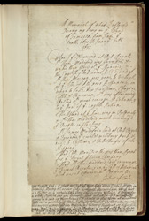 A Memorial Of Observations In Jamaica from Jan 10th 1670 to June 12th 1673